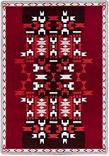 Vallila Figura Rug 160X230 cm, red, Material: