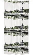 Vallila JAZZ Curtain, Cotton, Green, 250 x 140 x