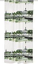Vallila JAZZ Curtain, Cotton, Turquoise, 250 x 140