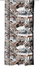 Vallila JYVÄSJÄRVI Curtain, Cotton, Brown, 250 x