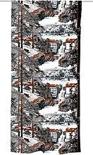 Vallila JYVÄSJÄRVI Curtain, Cotton, Grey, 250 x