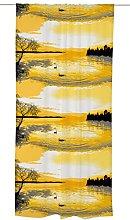 Vallila LAPINTAIKA Curtain, Cotton, Yellow, 250 x
