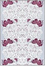 Vallila Naimakauppa Printed Rug, Polyester, Pink,