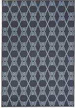 Vallila Päijänne Printed Rug, Polyester, Grey,