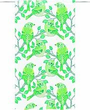 Vallila Peippo Fancy Curtain 140x250 cm green,