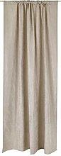 Vallila Royal Velvet Curtain 140x250 cm, Beige,