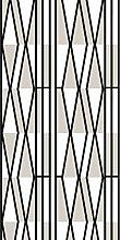Vallila Vallgård Curtain 140x250 cm black white
