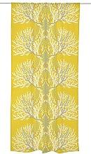 Vallila VARVIKKO Curtain, Cotton, Yellow, 250 x
