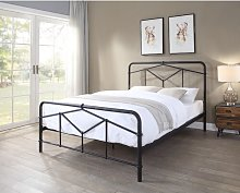 Valorie Bed Frame Williston Forge Size: Double