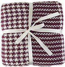 Valuax Bed Throws, Cotton Blanket, Sofa Blanket,