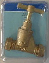 Valve - 15mm Stopcock Brass (1)