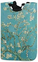 Van Gogh Almond Blossoms Laundry Hamper Basket
