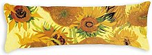 Van Gogh Sunflowers Body Pillow Cover Pillowcases