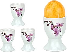 Van Well Set of 4 Egg Cups White