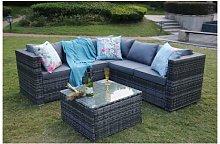 Vancouver Outdoor Rattan Garden Furniture 5 Seater