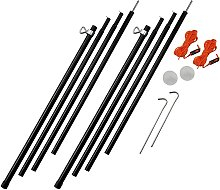Vango Adjustable Steel Poles - 180-220cm