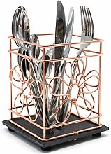 Vangogh Copper Wire Utensil Storage Holder Basket