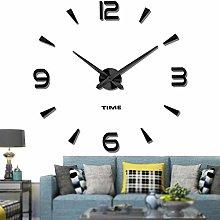 VANGOLD Modern Mute DIY Frameless Large Wall Clock