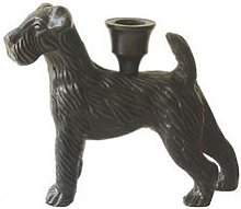 Vanilla Fly - Dog Candlestick