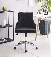 Vanimeu Velvet Office Chair Ergonomic 360° Swivel