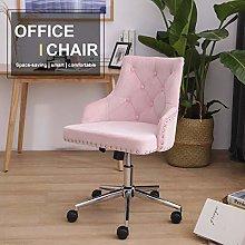Vanimeu Velvet Office Chair Swivel Adjustable