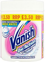 Vanish Oxi Action Crystal White Fabric Stain