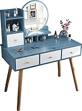 Vanity Set Vanity Desk with Drawers and Lighted