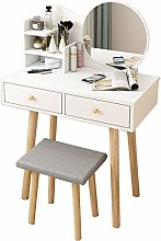 Vanity Table Set Makeup Dressing Table Ins Style
