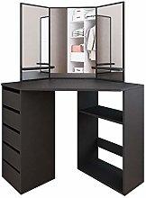 Vanity Table Set with Mirror Modern Bedroom