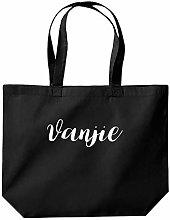 Vanjie Tote Shopping Gym Beach Bag 39 x 35 x