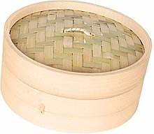 VANKOA 6-Inch / 7-Inch / 8-Inch Bamboo Steamer -
