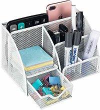 VANRA Desk Organiser Metal Mesh Pen Holder makeup