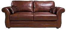 Vantage Italian Leather 3 Seater Sofa