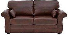 Vantage Italian Leather Sofa Bed
