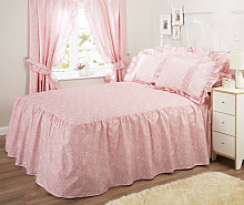 Vantona Monique Pink Fitted Bedspreads