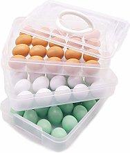 Vaorwne Egg Holder, 3-Layer Deviled Egg Tray with