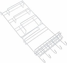 Vaorwne Fridge Hanging Rack Shelf Side Storage