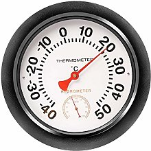 Vaorwne Indoor/Outdoor 10 inch Thermometer