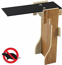Vaorwne Mousetrap Trap Wooden Seesaw Rodent