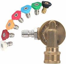 Vaorwne Power Pressure Washer Spray Nozzle Tips