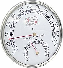 Vaorwne Sauna Thermometer Metal Case Steam Sauna