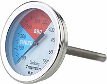 Vaorwne Thermometer Handheld Analog Stainless
