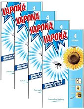 Vapona 16 x Window Stickers Sunflower Insect Flies