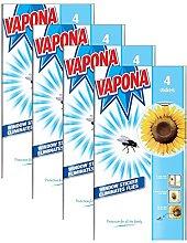 Vapona 16 x Window Stickers Sunflower Insect Flies