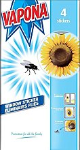 Vapona Fly Killer Trap Window Sticker Original