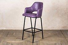 Vara 76cm Bar Stool Borough Wharf Seat Colour: