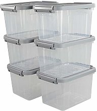 Vareone Small First Aid Storage Bin Box Container