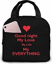 Variety Good Night Quotes Portable Lunch Bag