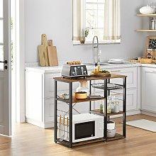 VASAGLE Baker's Rack, Industrial Kitchen Shelf