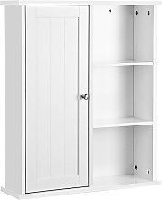 VASAGLE Bathroom Cabinet Wall Storage Organiser
